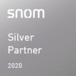Snom Silver Partner Logo 2020